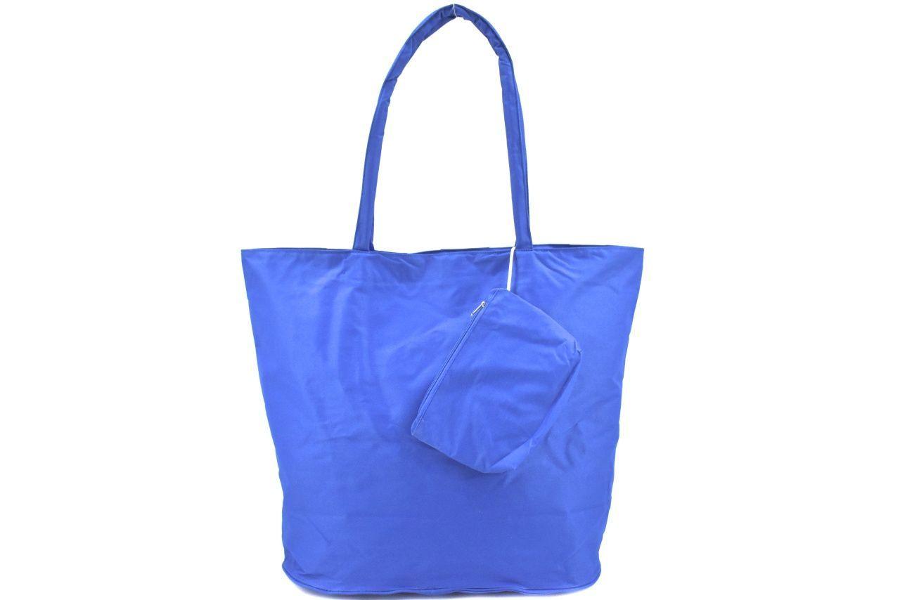 Plážová taška pruhovaná s potiskem - růžová 37201