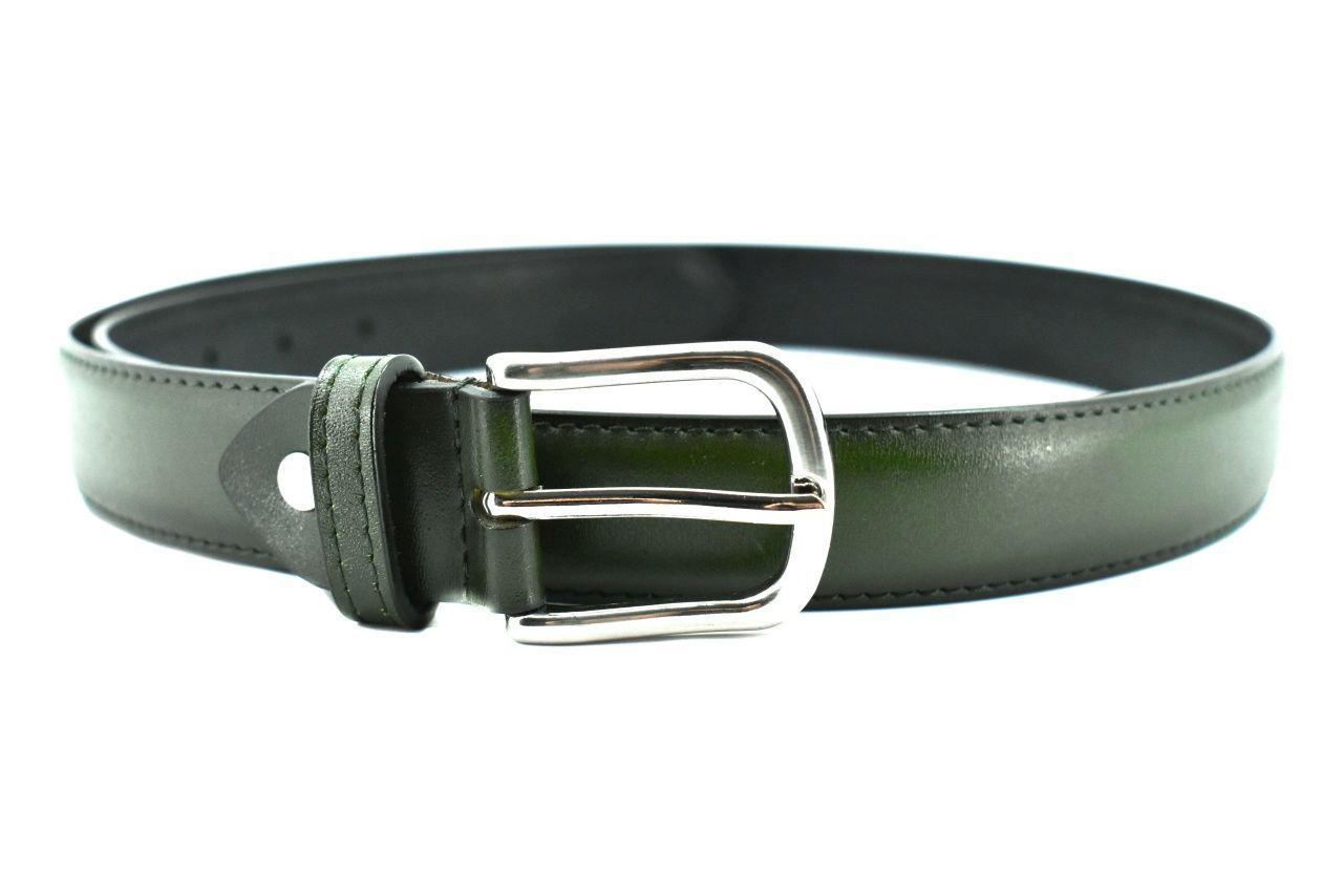 Dámský kožený opasek Arteddy - tmavě zelená /115 39538