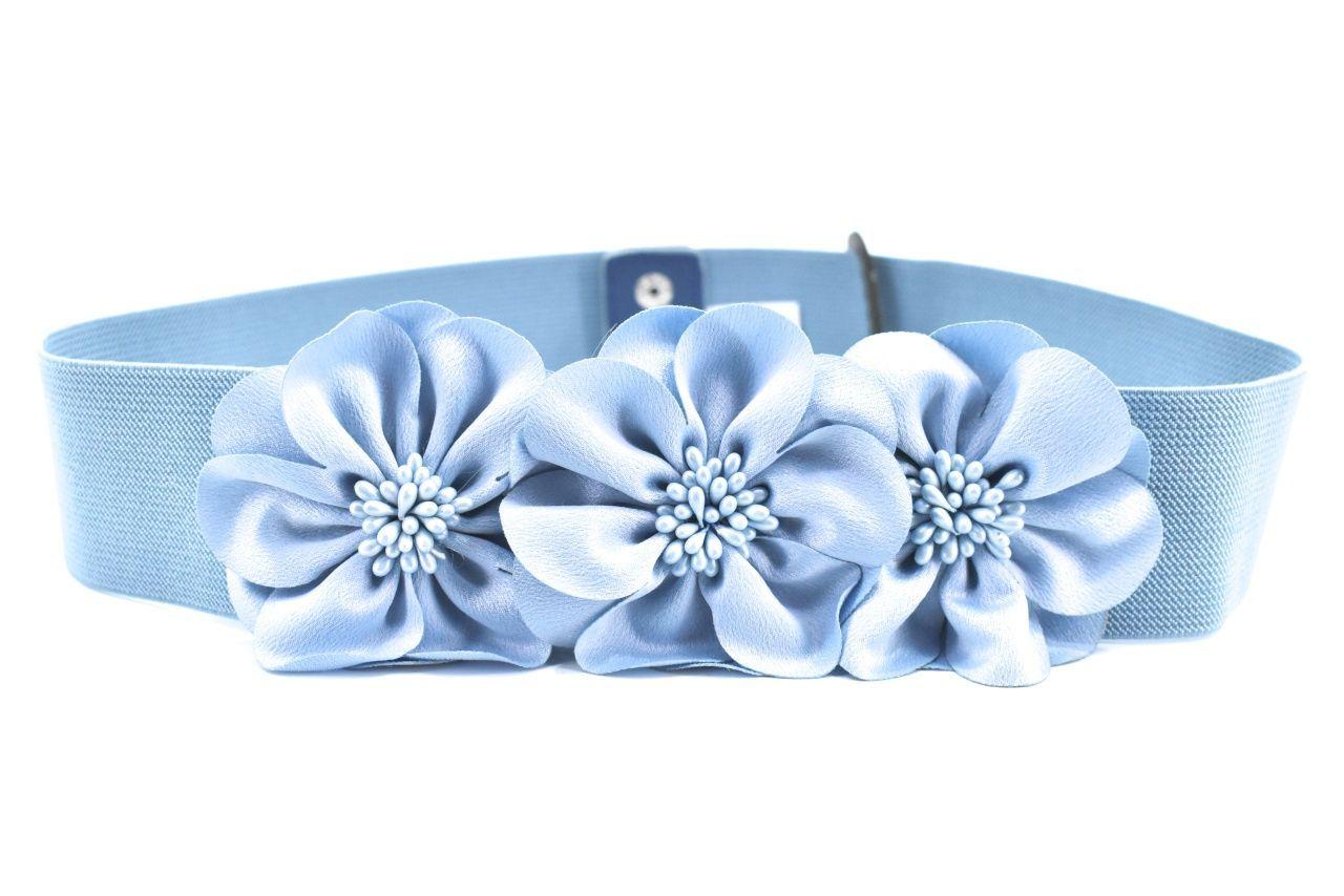 Dámský/dívčí elastický opasek Arteddy - světle modrá 73-105 39383