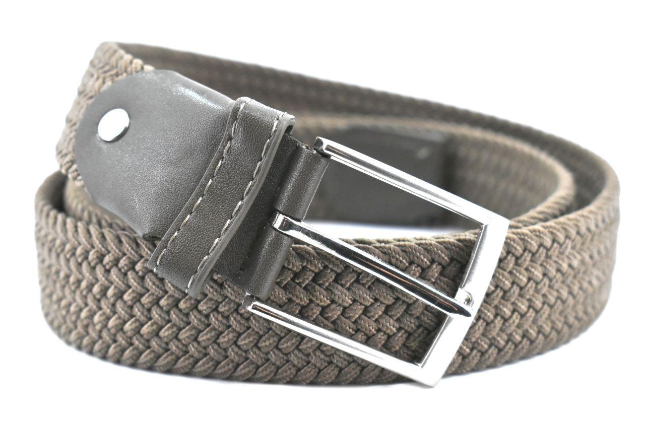 Jednobarevný elastický opasek Arteddy - taupe/110 38506
