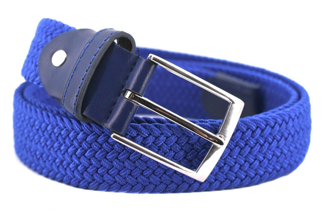 Jednobarevný elastický opasek Arteddy - modrá/125 38506