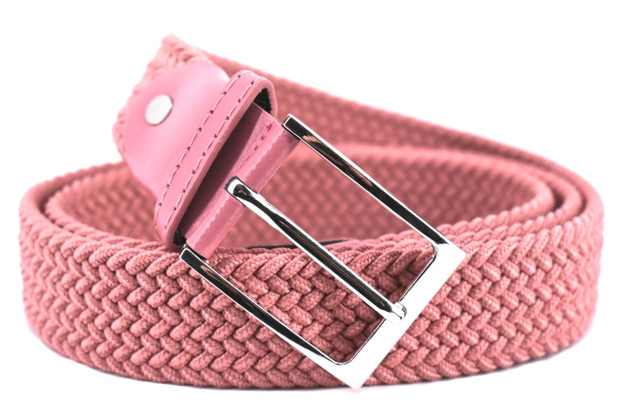 Jednobarevný elastický opasek Arteddy - starorůžová/125 38506