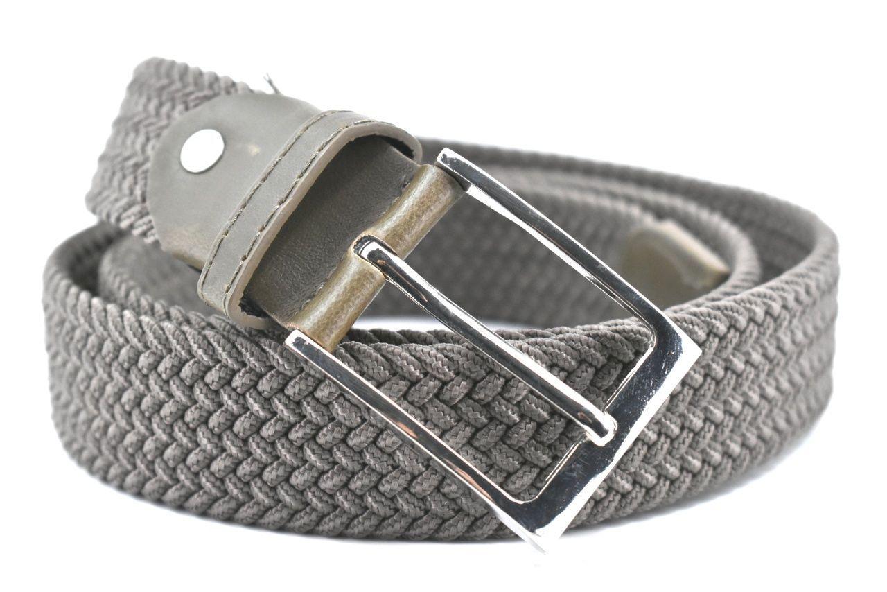 Jednobarevný elastický opasek Arteddy - kaki /115 38506