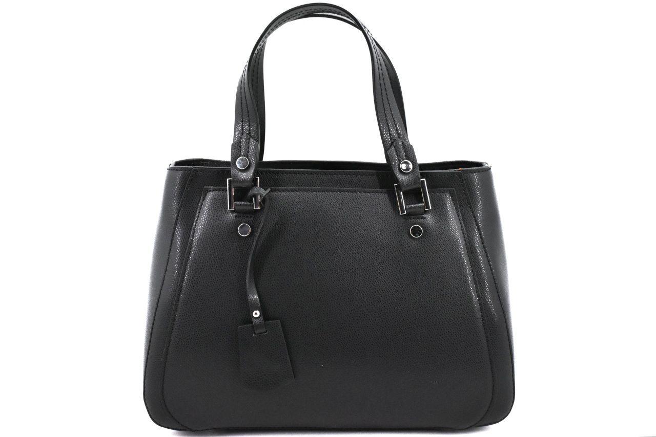 Luxusní dámská kožená kabelka Arteddy - krémová 37208