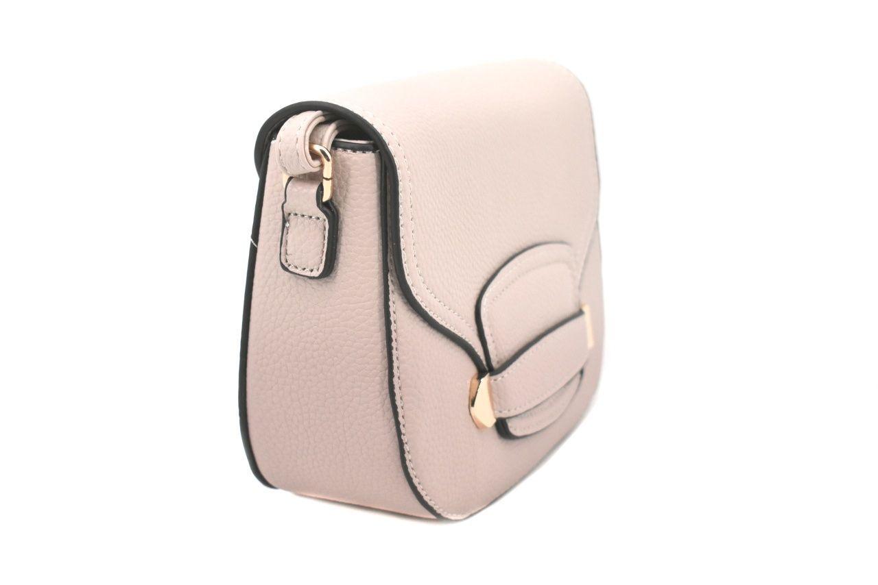 Dámská / dívčí kabelka s klopnou - růžová 37174