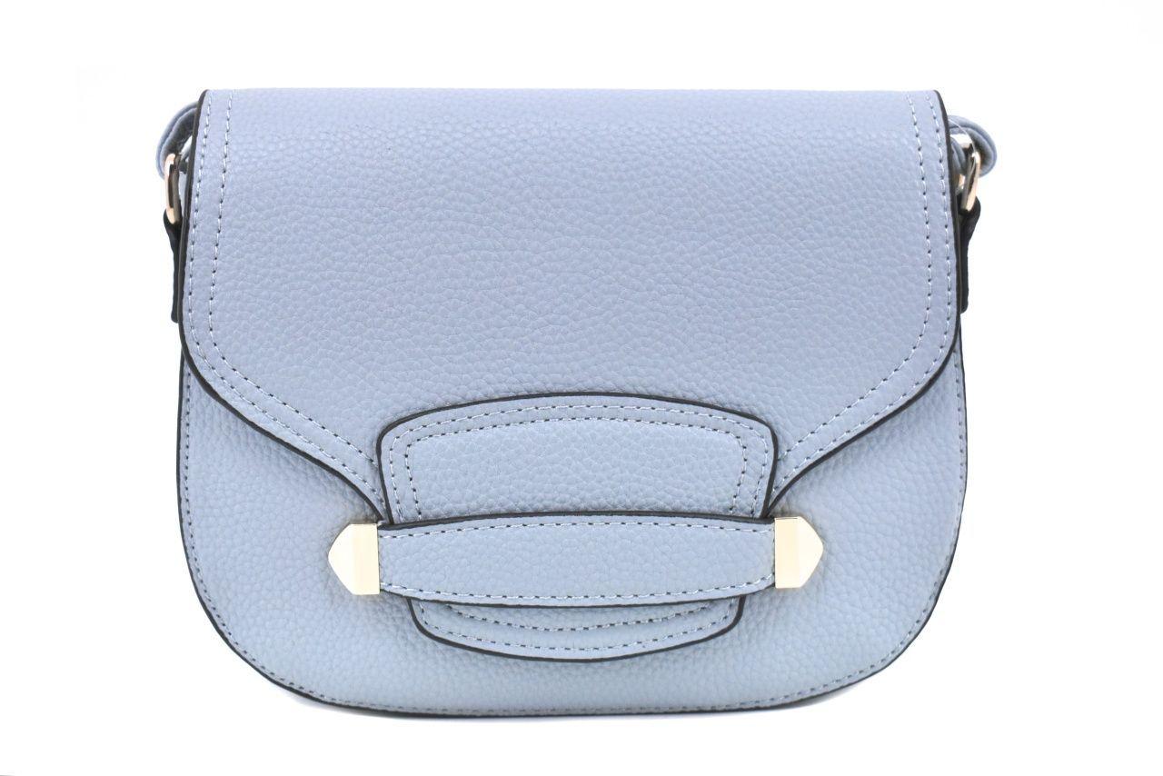 Dámská / dívčí kabelka s klopnou - světle modrá 37174