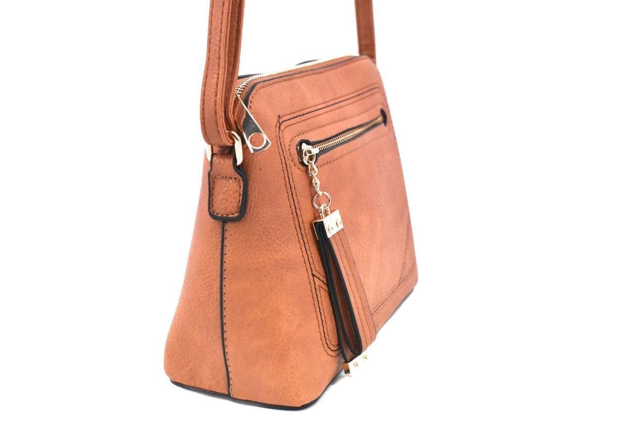 Dámská / dívčí kabelka crossbody - růžová 37170