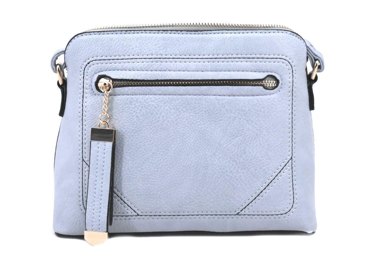 Dámská / dívčí kabelka crossbody - světle modrá 37170