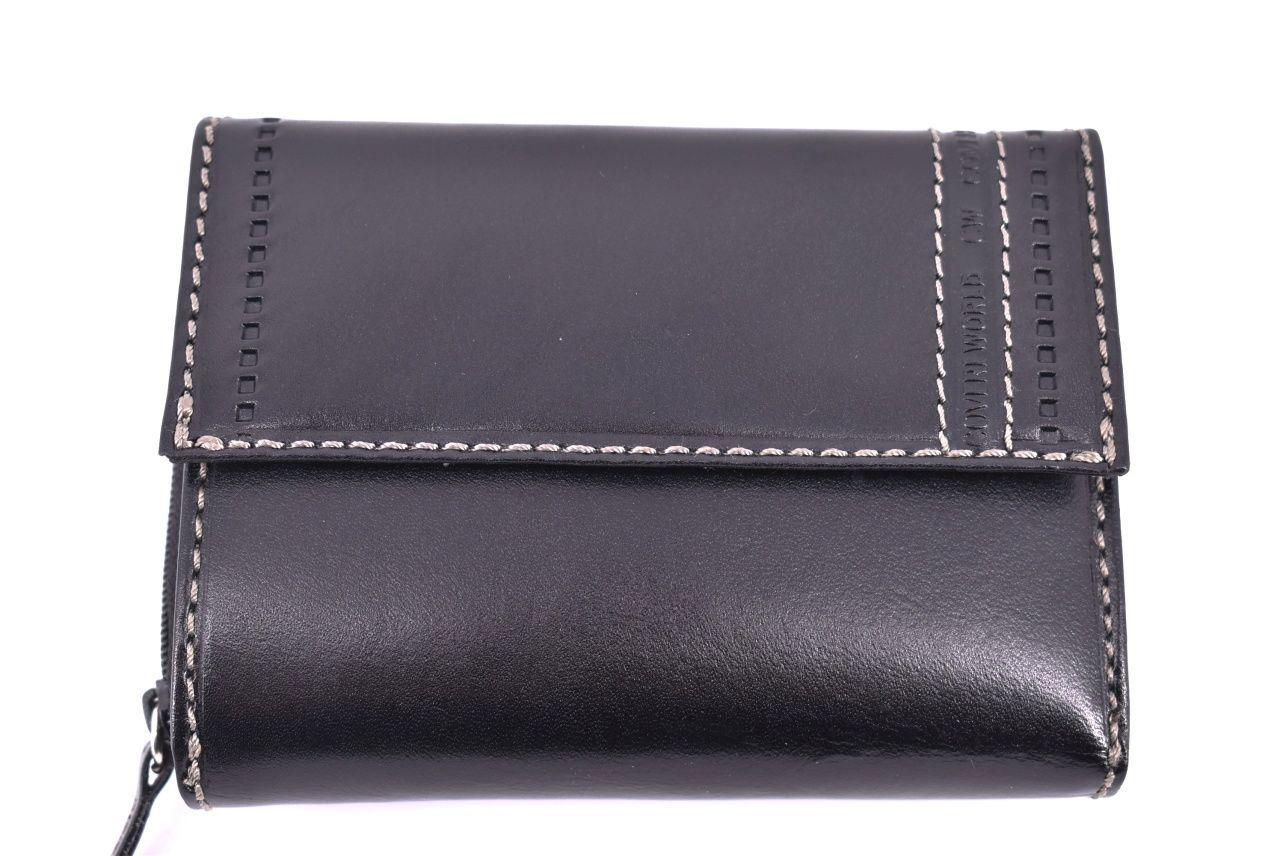 Dámská kožená peněženka Coveri World - černá 32161