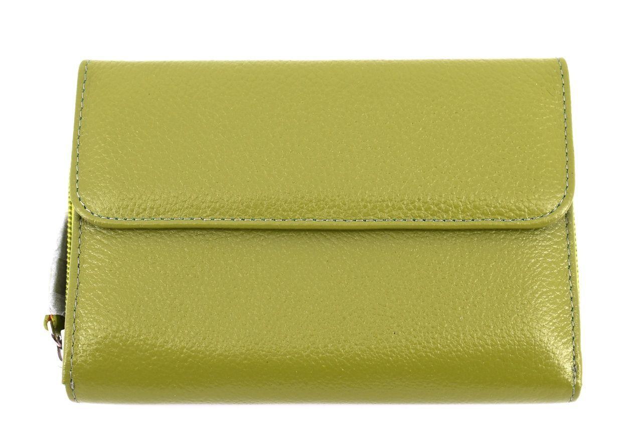 Dámská kožená peněženka Arteddy - zelená 34563