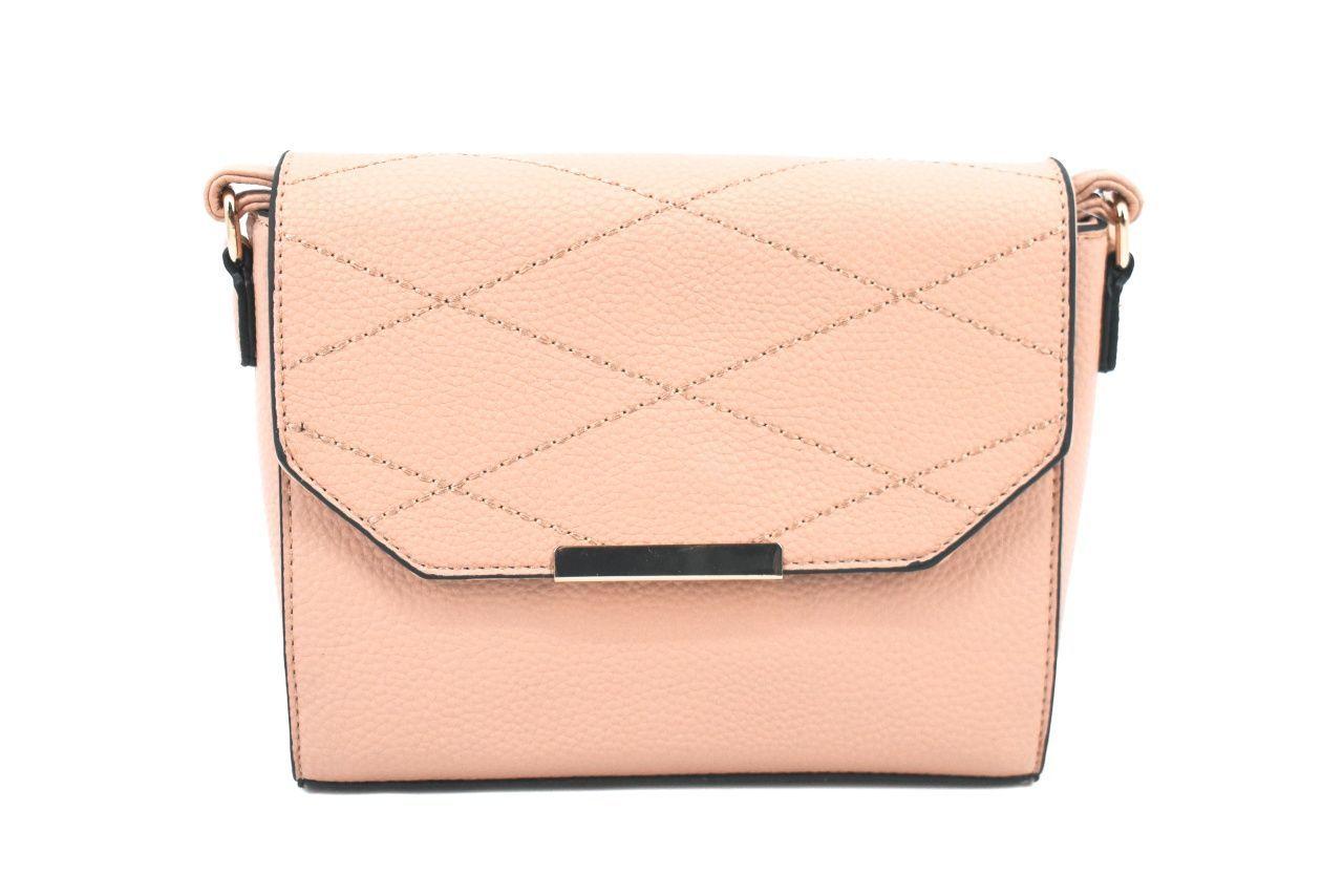Dámská kabelka s klopnou - béžová 39062