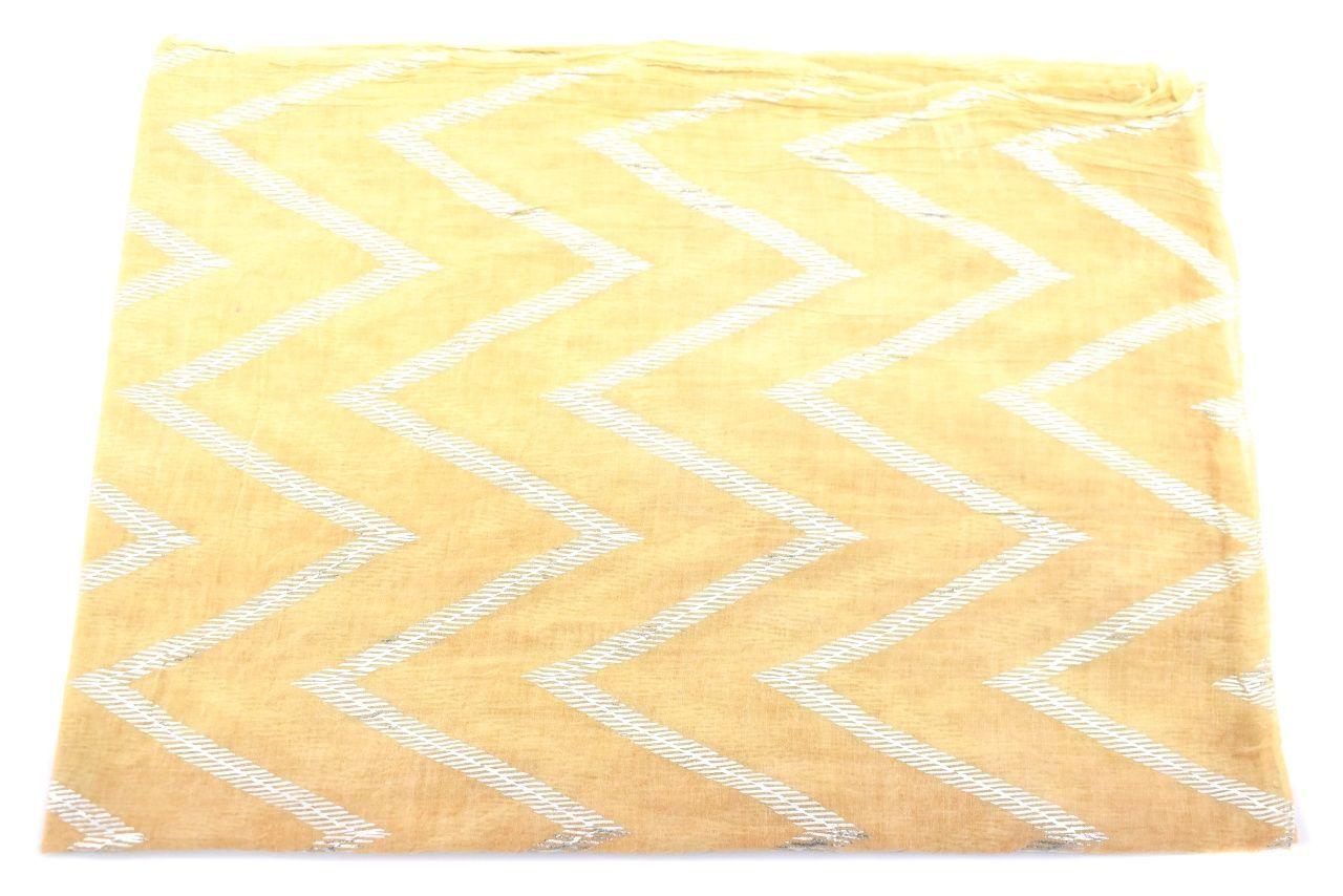 Dámský šátek - hořčicová