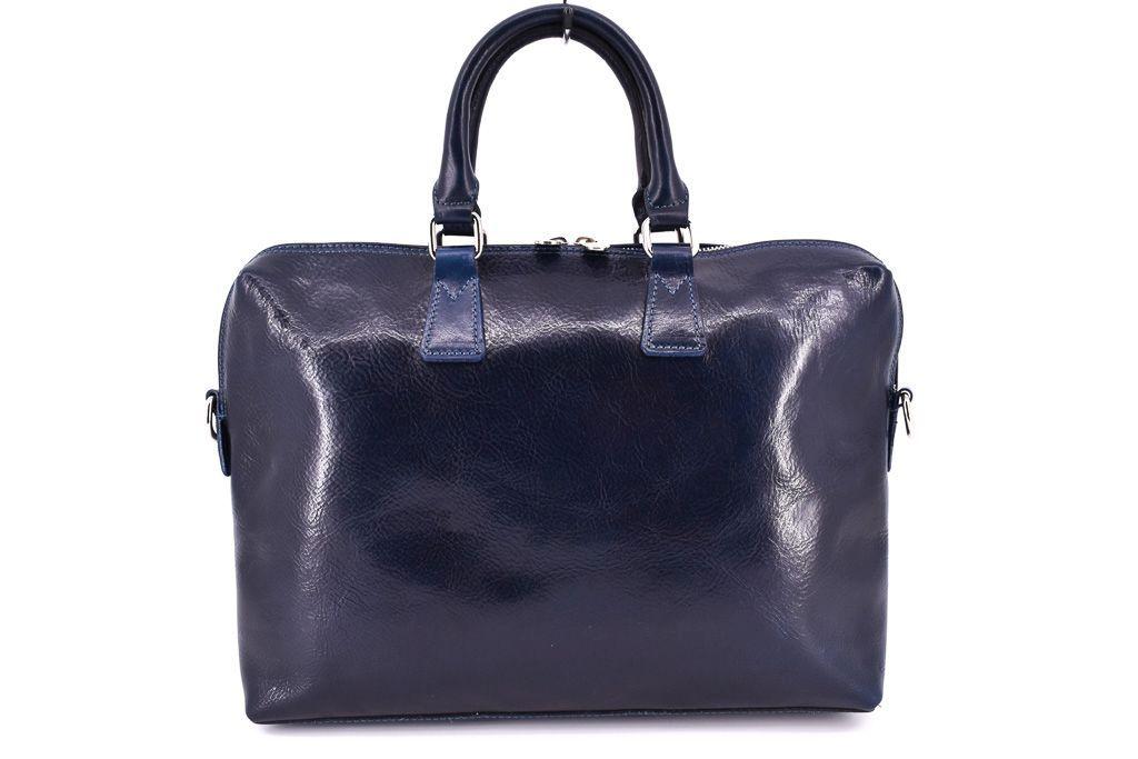 Dámská kožená kabelka Arteddy - modrá 29630