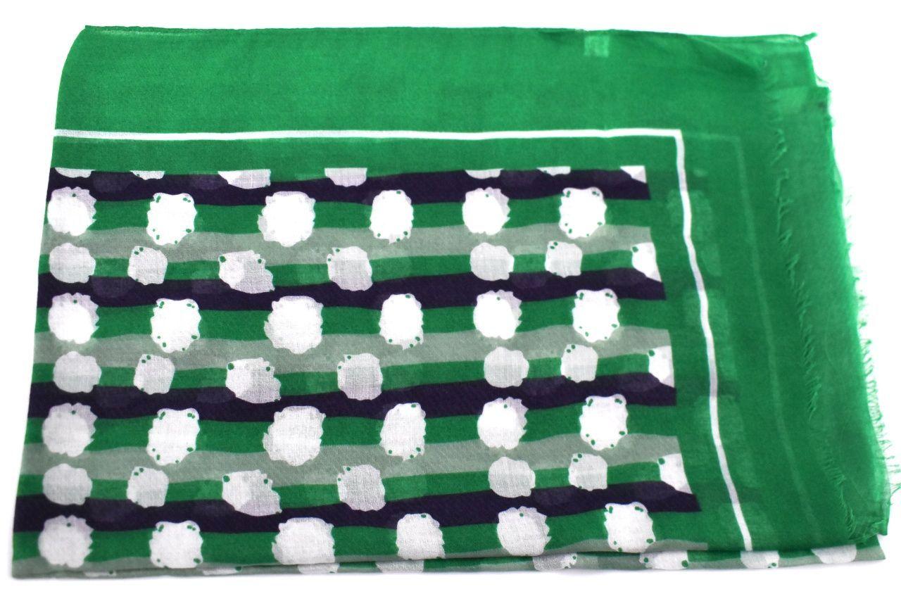 Dámský šátek - zelená