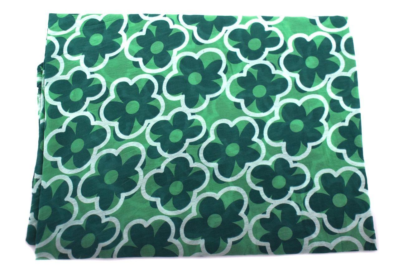 Dámský šátek Made in Italy - zelená