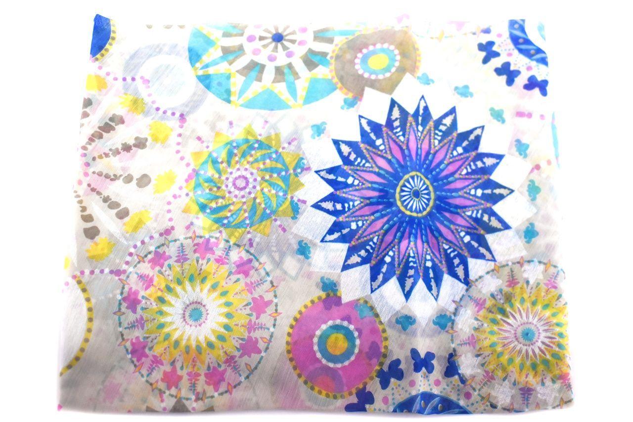 Dámský šátek Made in Italy - bílá