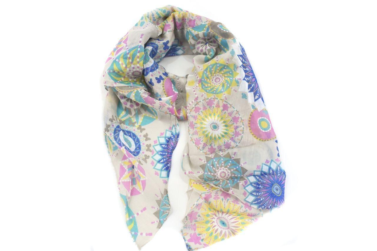 Dámský šátek Made in Italy - krémová