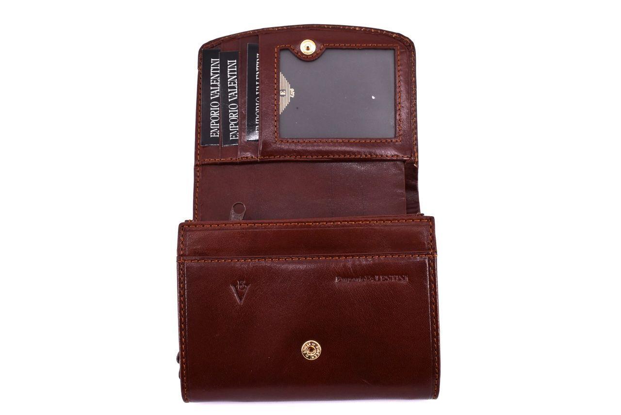 Dámská kožená peněženka Emporio Valentini - černá 32139