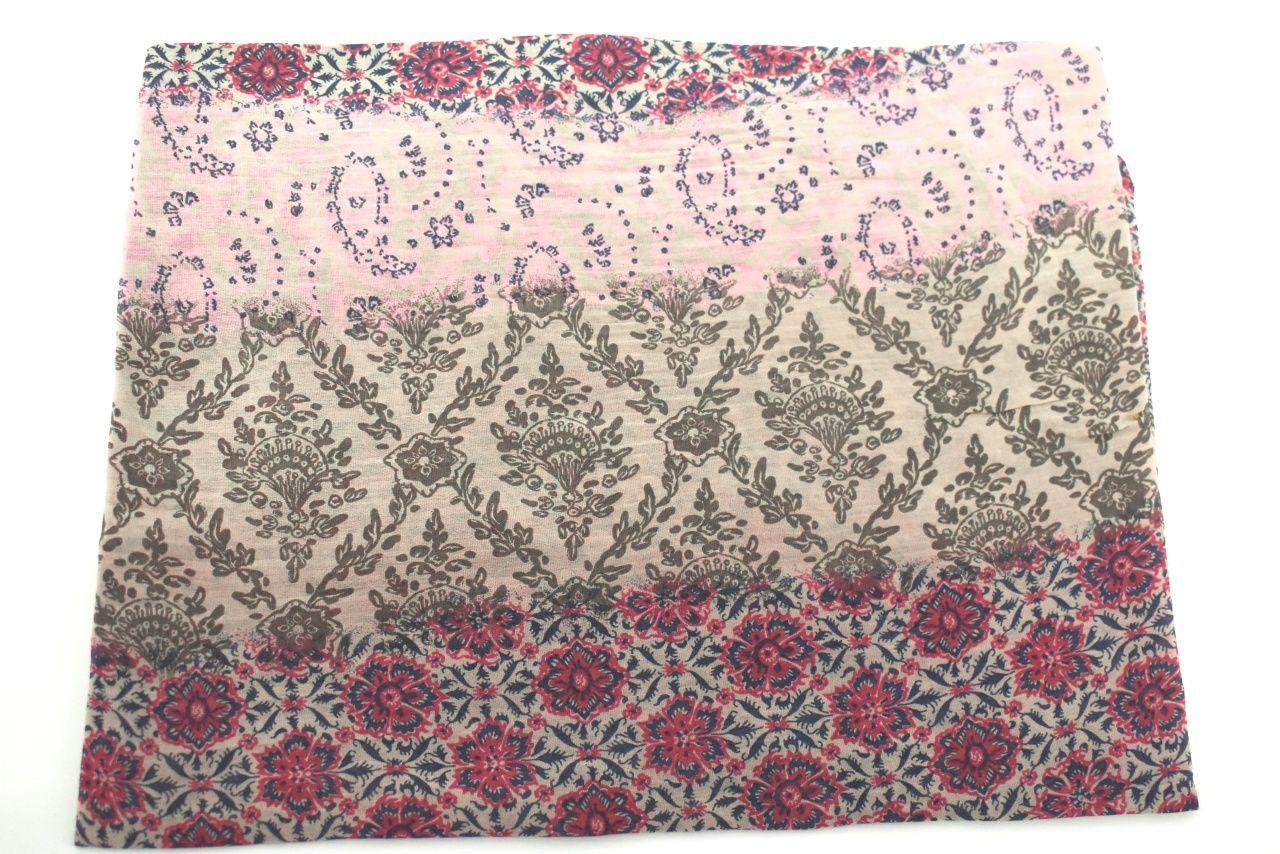 Dámský šátek Made in Italy - tmavě béžová
