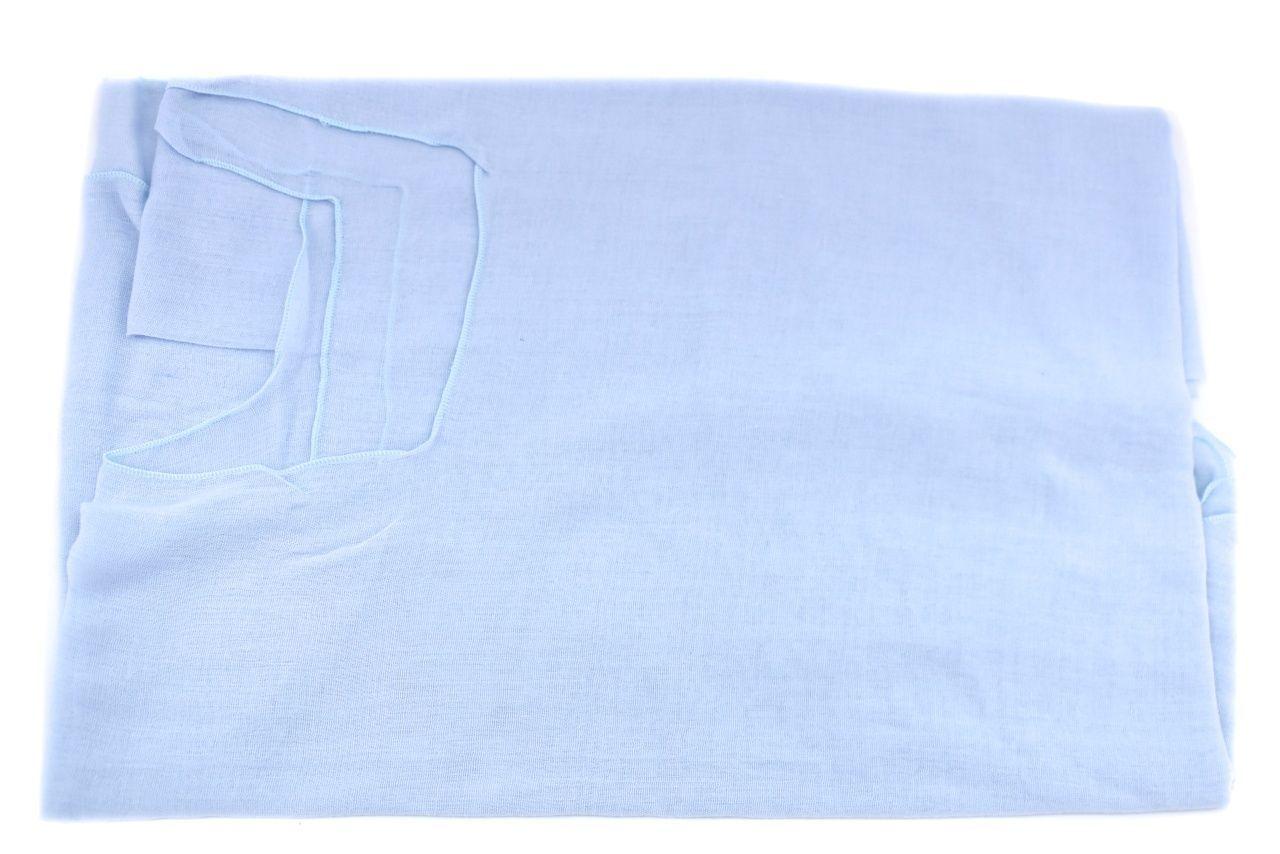 Dámský pareo šátek - světle modrá