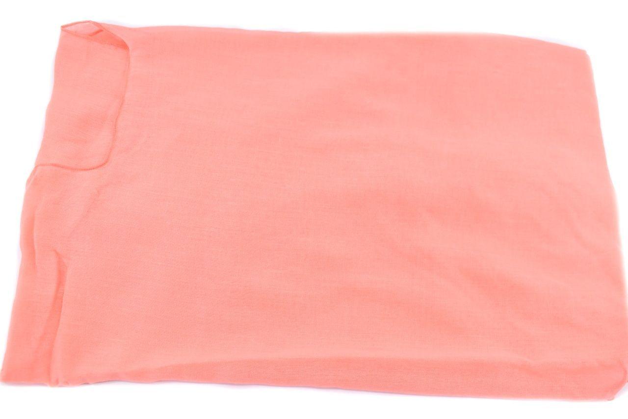 Dámský pareo šátek - lososová