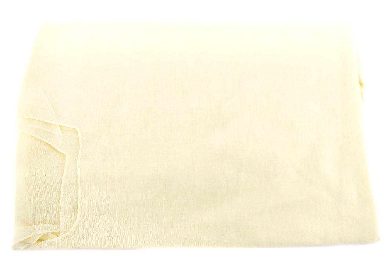 Dámský pareo šátek - světle žlutá