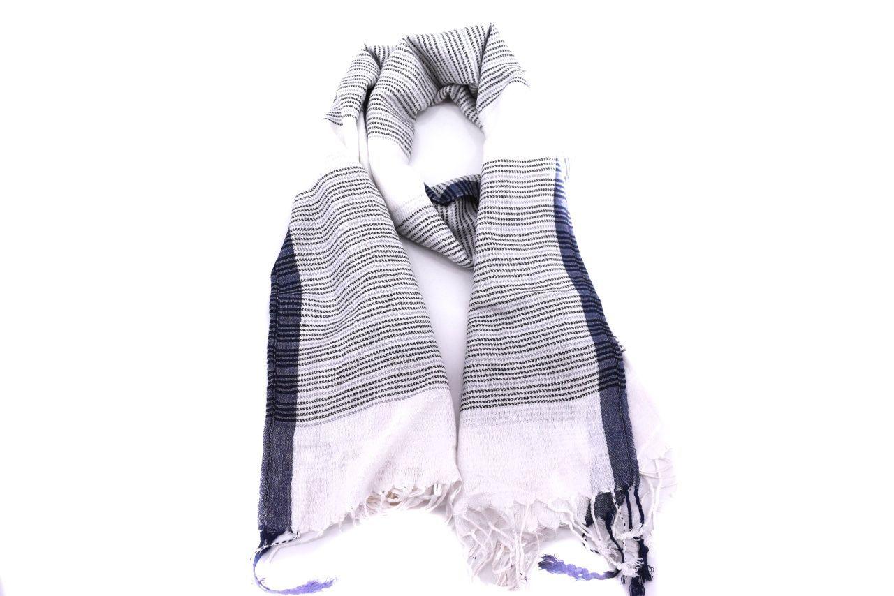 Moderní dámský šátek - tmavě modrá