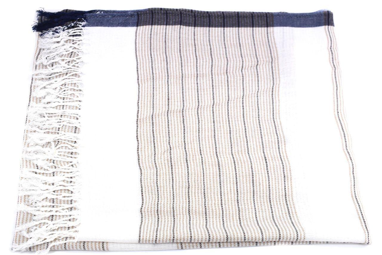 Moderní dámský šátek - béžová