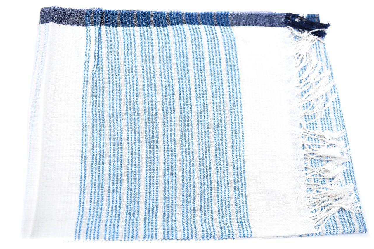 Moderní dámský šátek - světle modrá