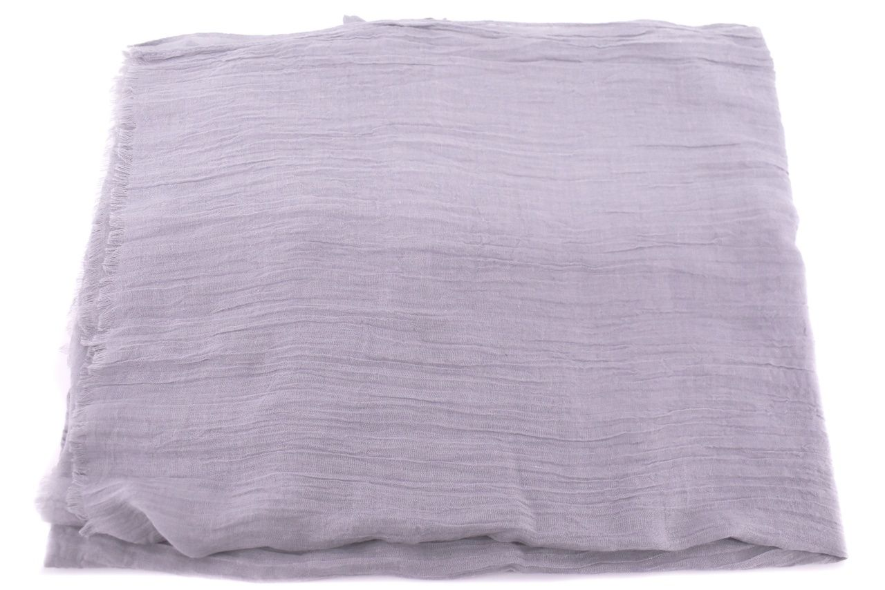 Dámský jednobarevný šátek - šedá