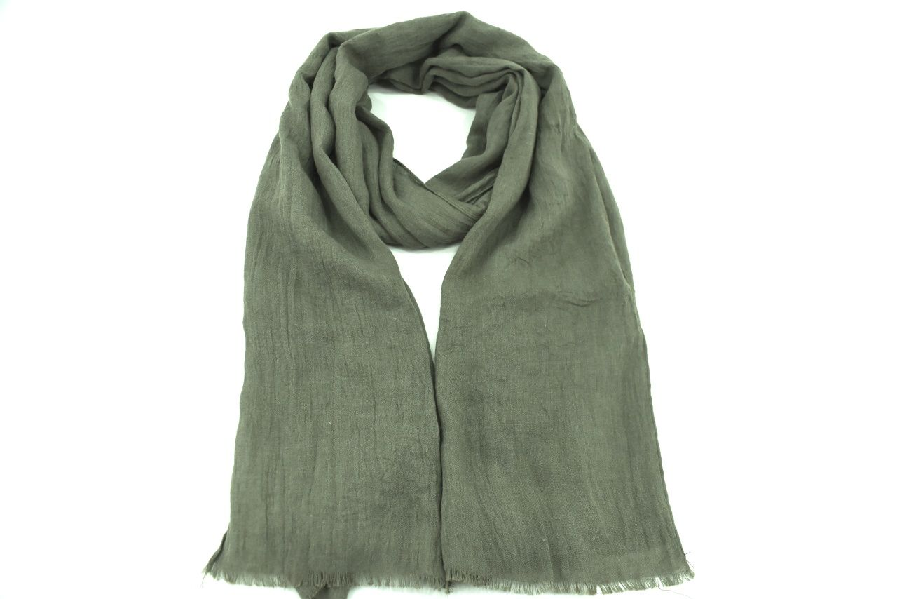 Dámský jednobarevný šátek - tmavě šedá
