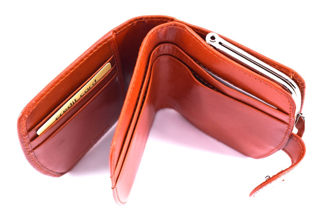 Dámská kožená peněženka Arteddy - černá 39778