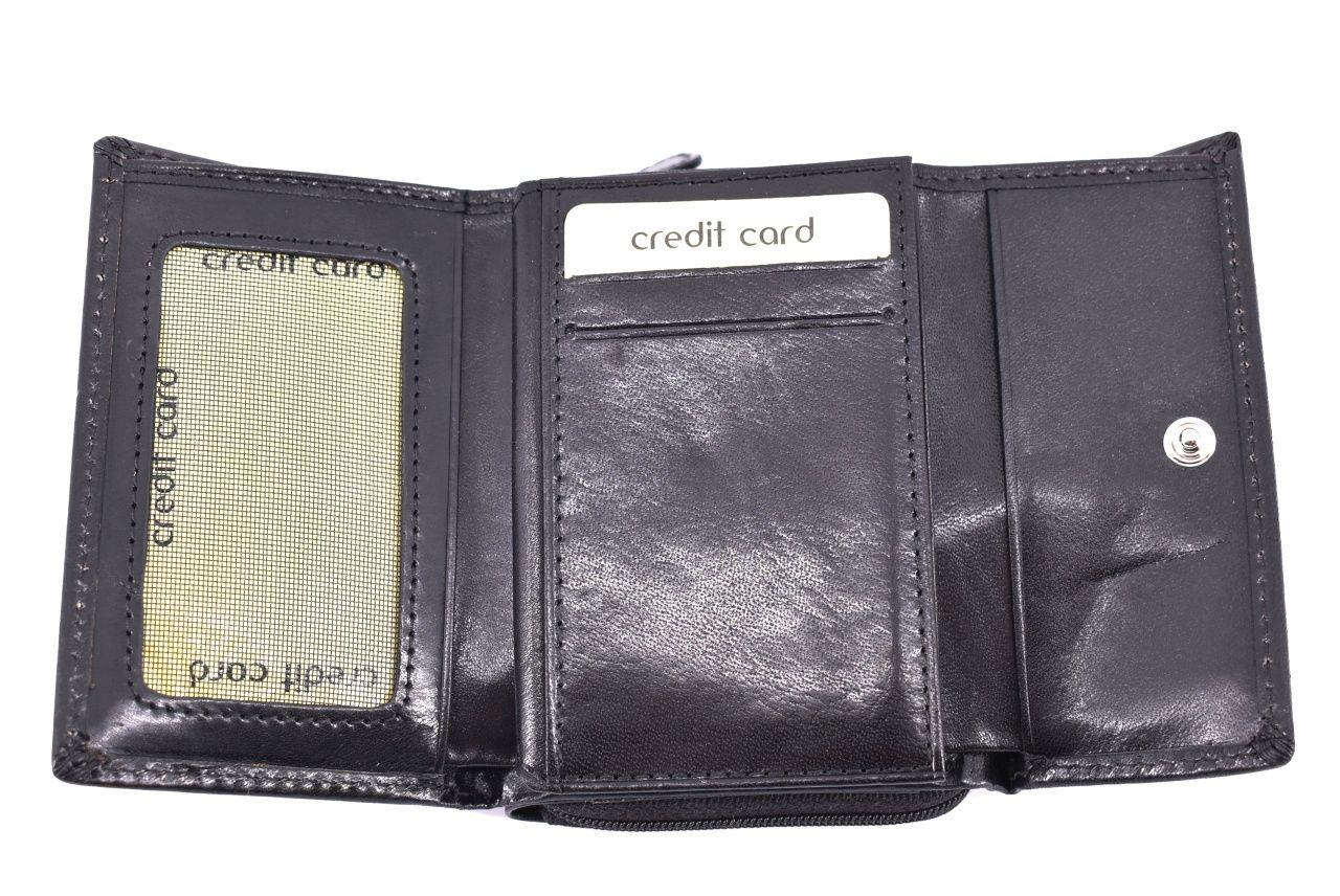 Dámská kožená peněženka Arteddy - černá 32212