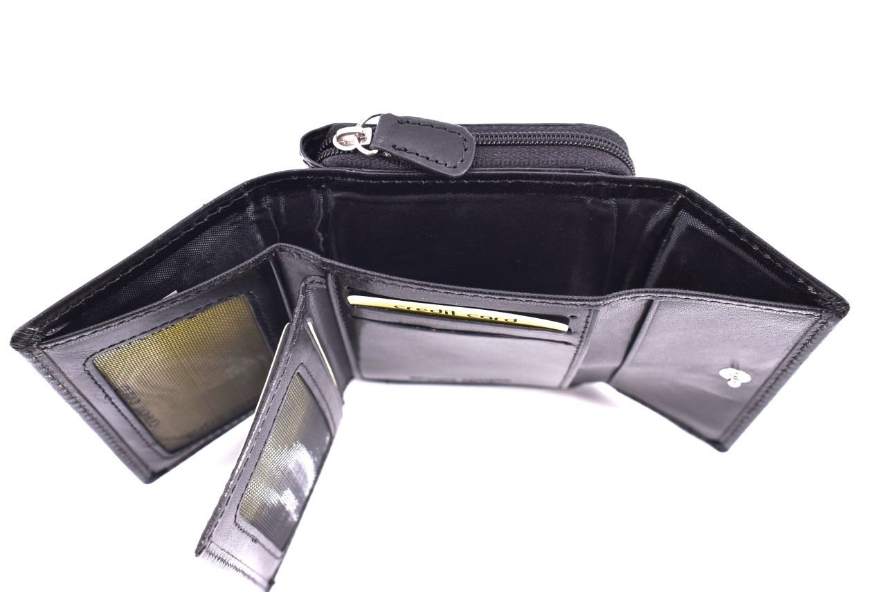 Dámská kožená peněženka Arteddy - černá