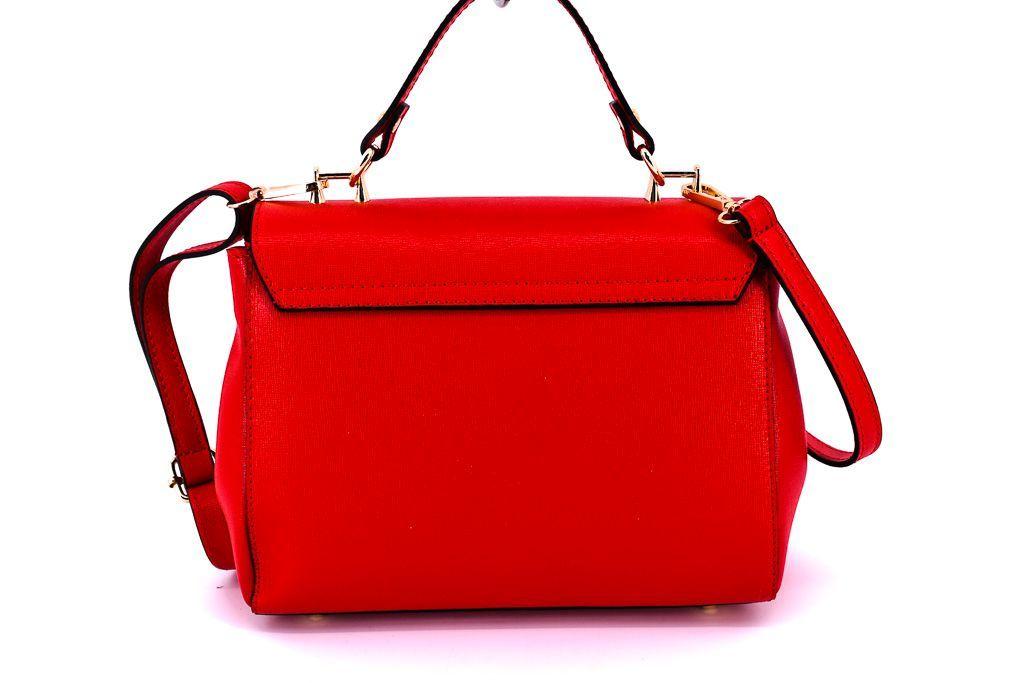Dámská kožená kabelka Arteddy -taupe 32471