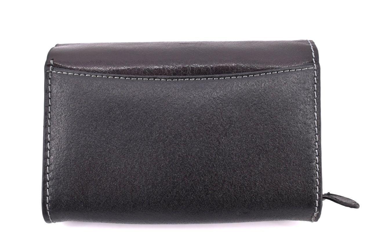 Dámská kožená peněženka Boss - černá 90946