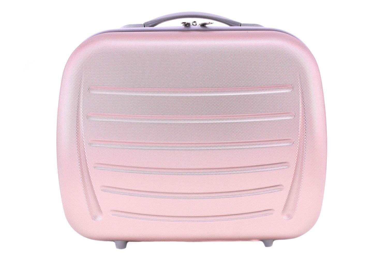 Kosmetický palubní příruční kufr Arteddy - světle růžová 40877