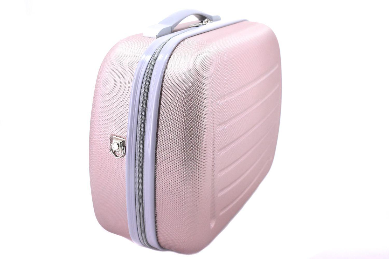 Kosmetický palubní příruční kufr Arteddy - žlutá 40877