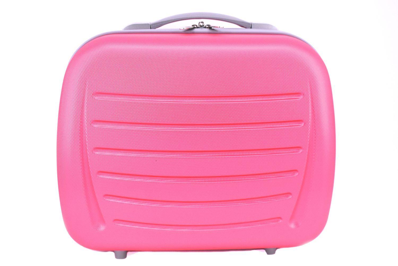 Kosmetický palubní příruční kufr Arteddy - růžová