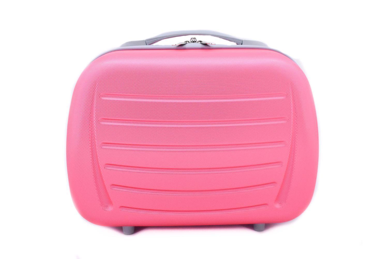 Kosmetický palubní příruční kufr Arteddy - růžová 40878