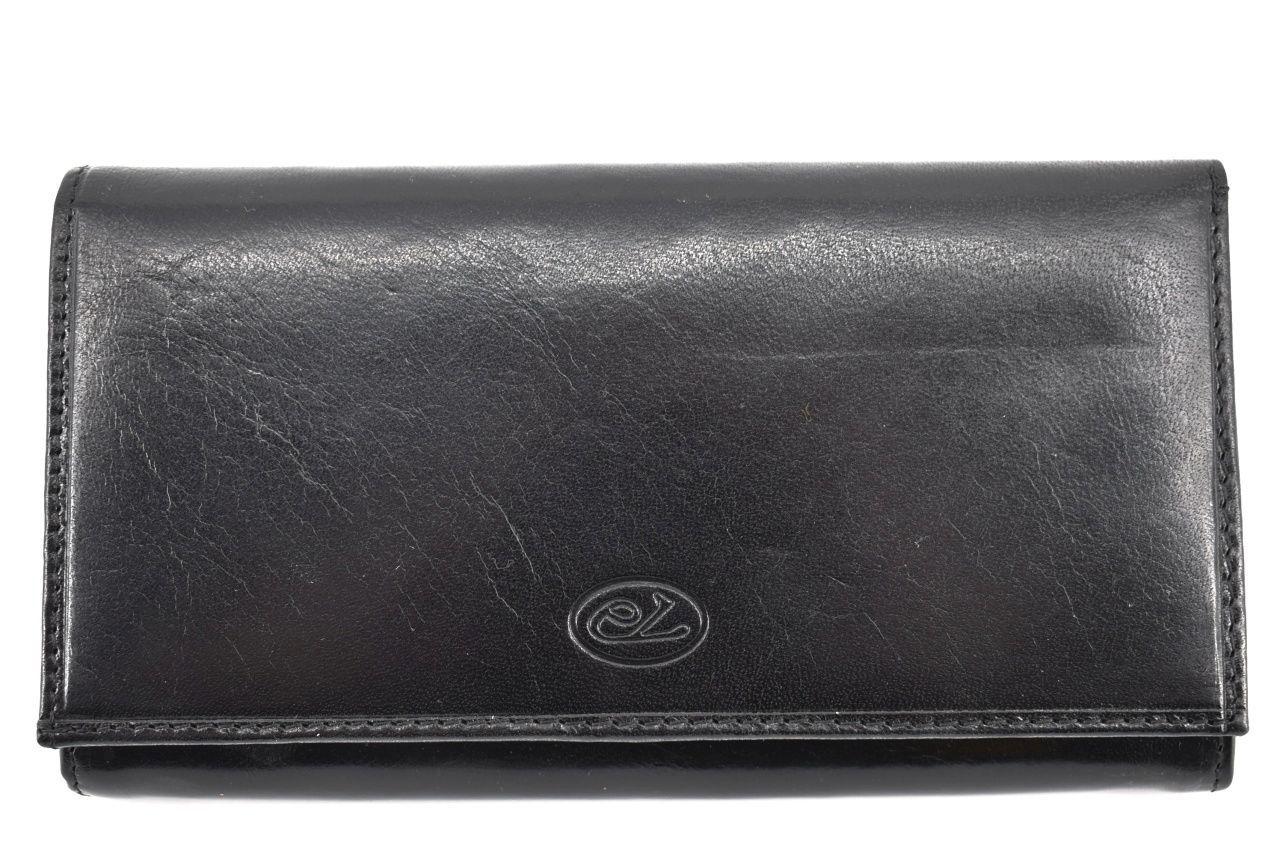 Dámská kožená peněženka Every - černá 25544