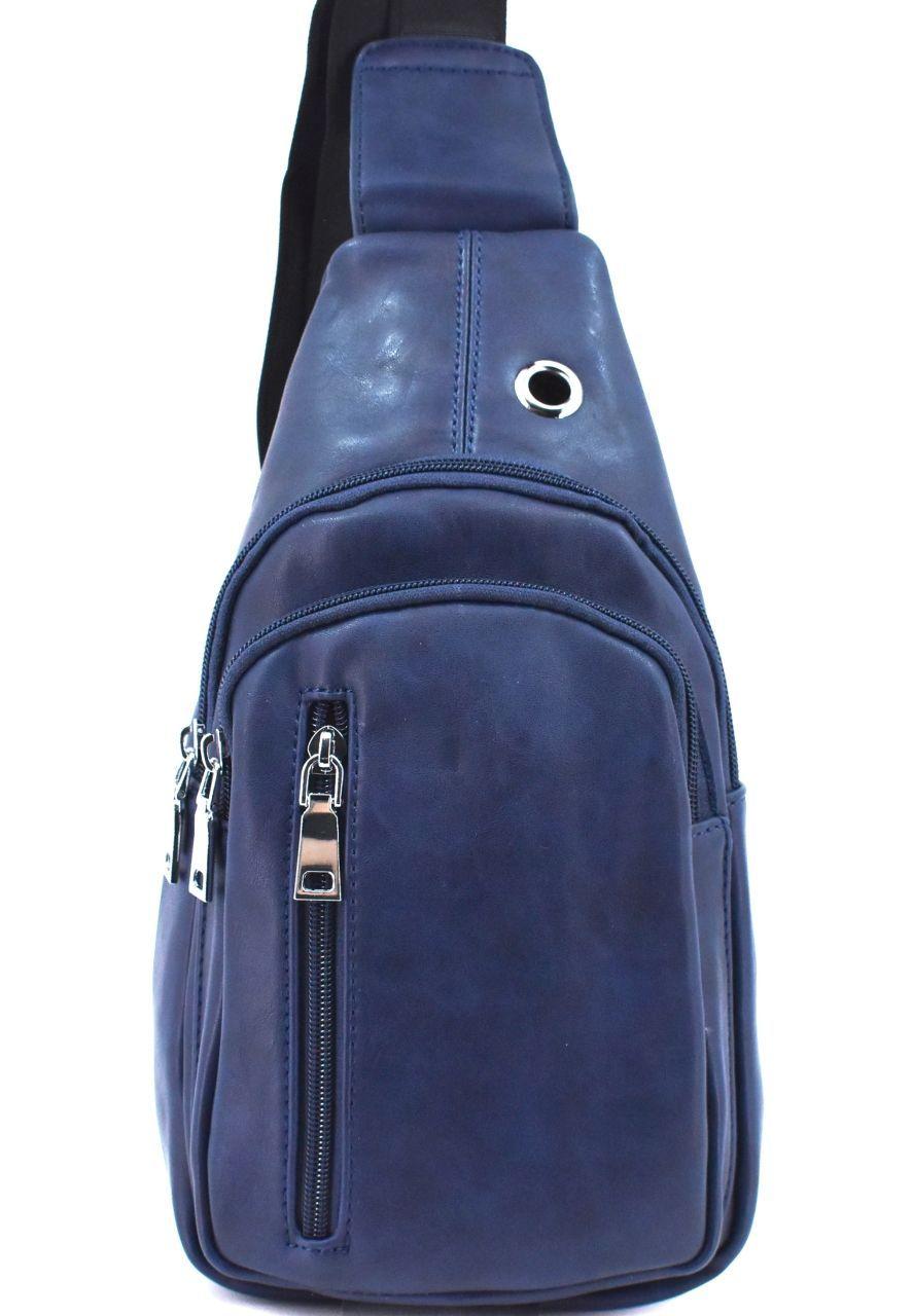 Pánská taška přes rameno - tmavě modrá