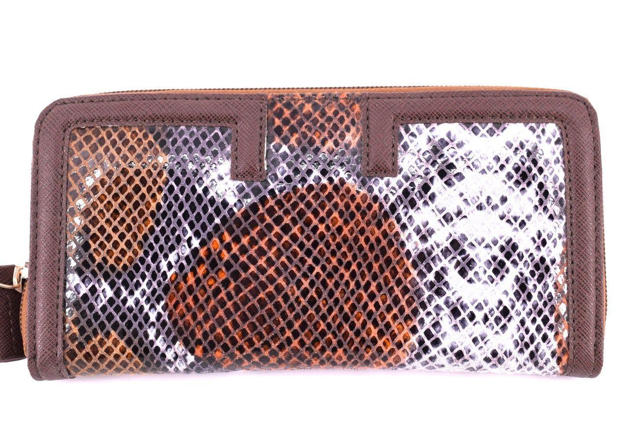 Dámská kožená peněženka Every - tmavě hnědá 24891