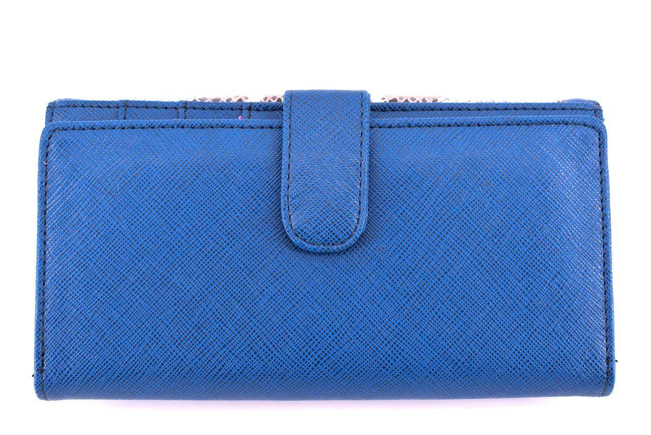 Dámská kožená peněženka Every - modrá 24889