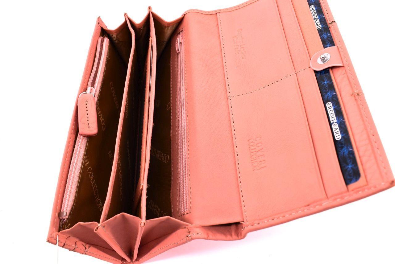 Dámská kožená peněženka Coveri Collection - černá 31756