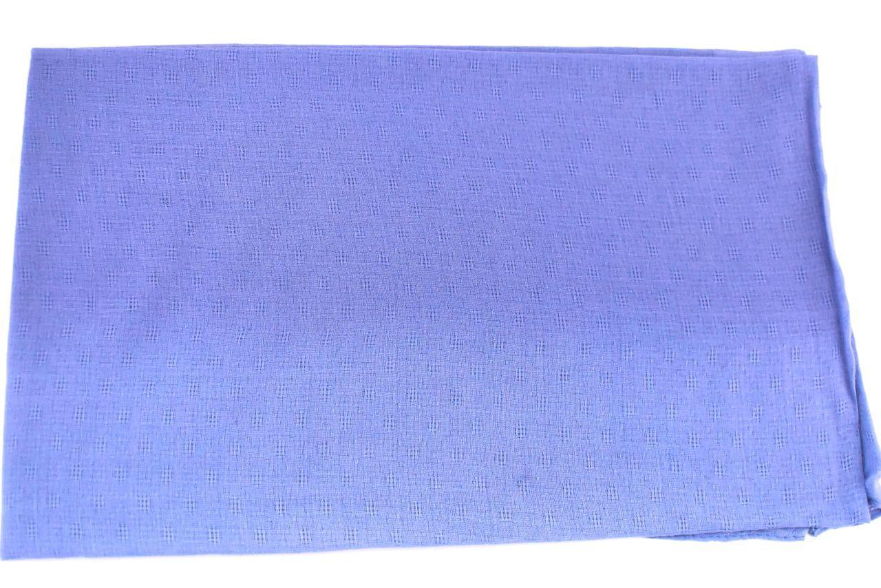 Moderní  jednobarevný šátek - modrá
