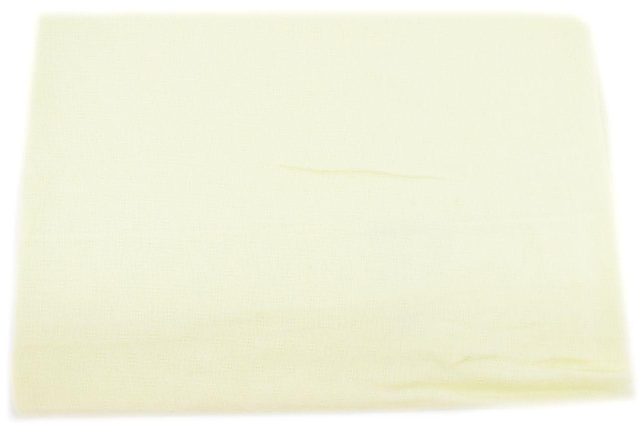 Moderní  jednobarevný šátek - žlutá