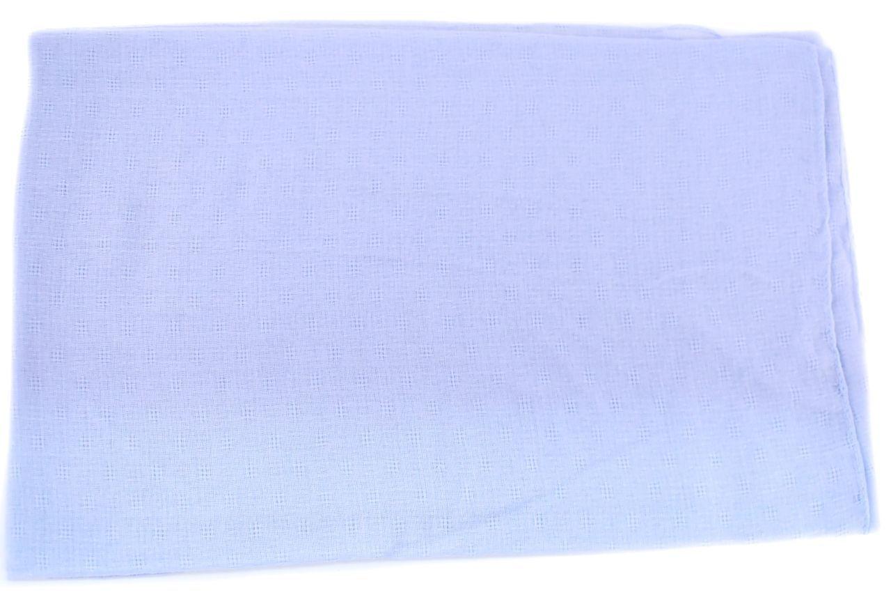 Moderní  jednobarevný šátek - světle modrá