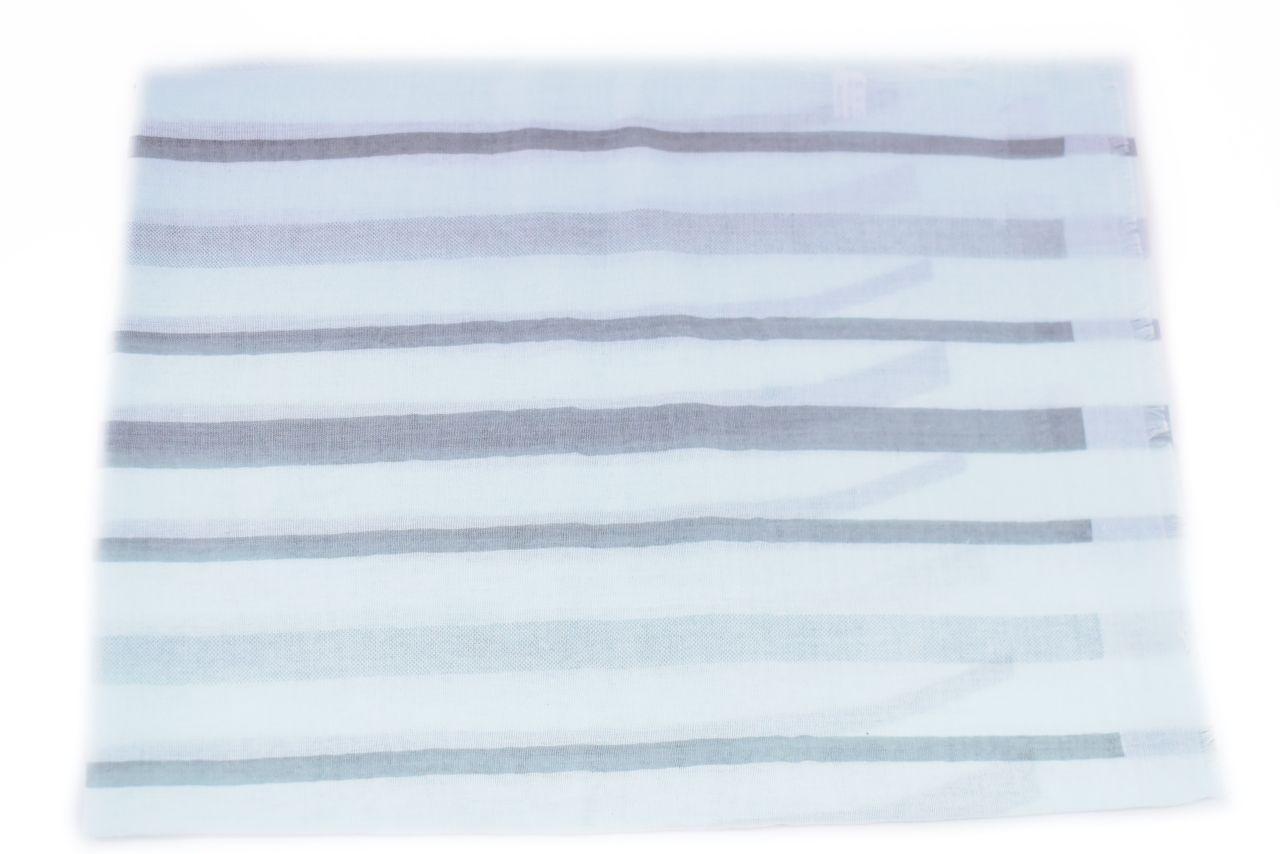 Pruhovaný šátek - světle modrá