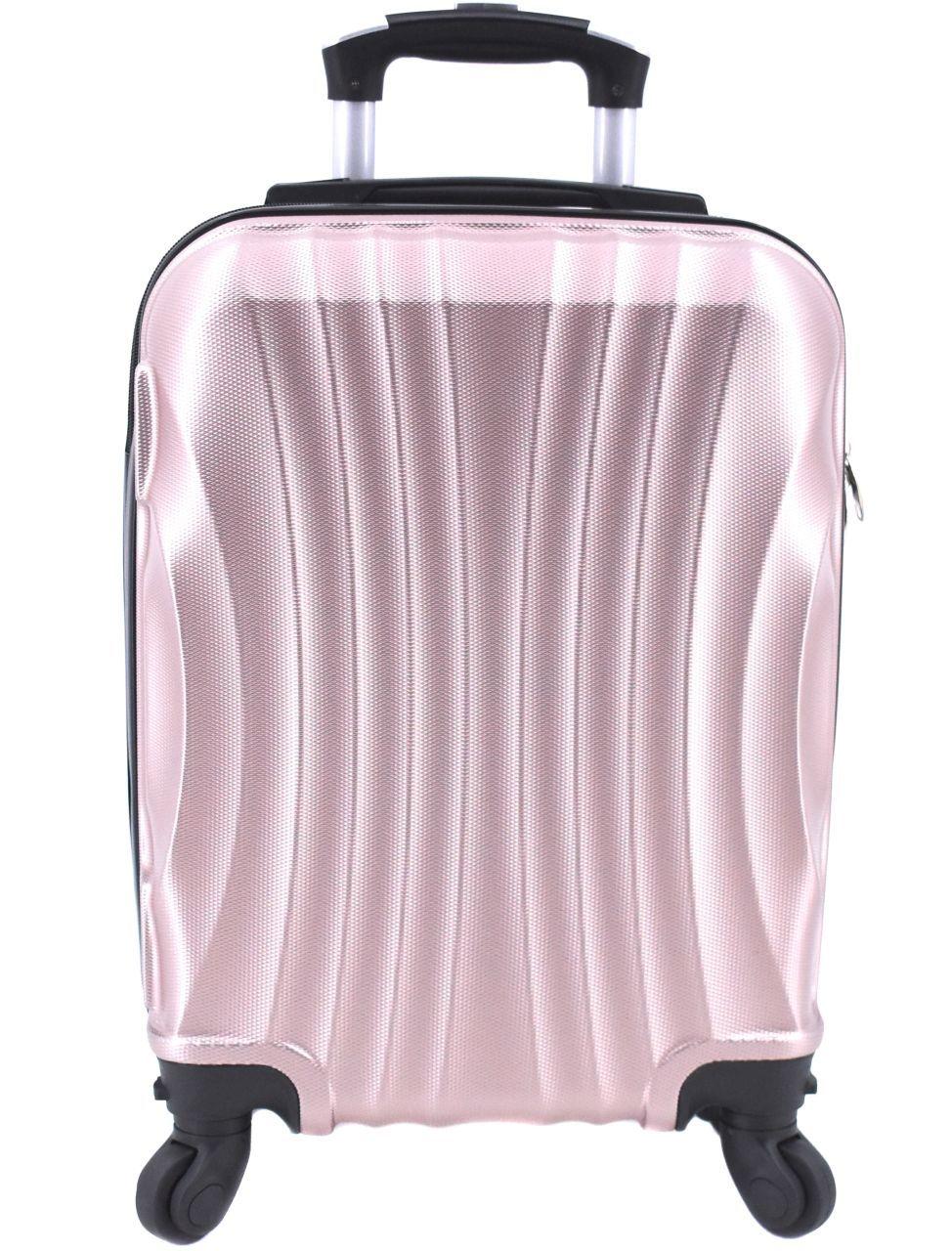 Cestovní palubní kufr Arteddy / 4 kolečka (XS) 30l - světle růžová 6020 (XS)